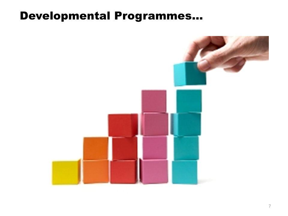 Developmental Programmes…