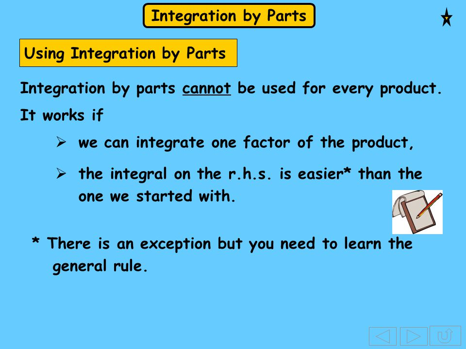 Using Integration by Parts