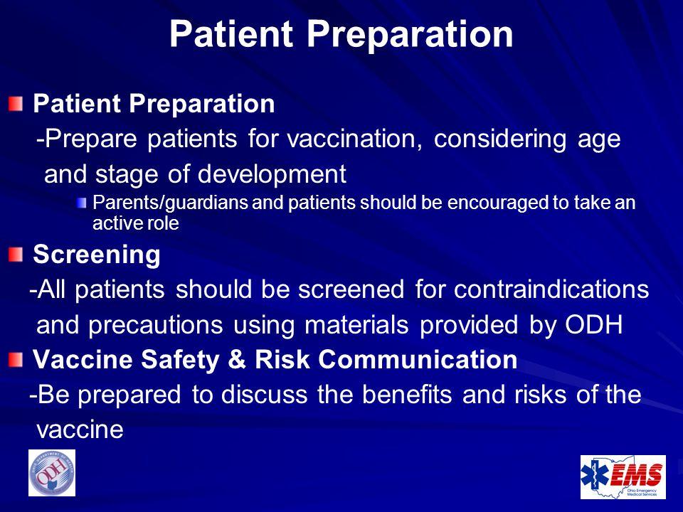 Patient Preparation Patient Preparation