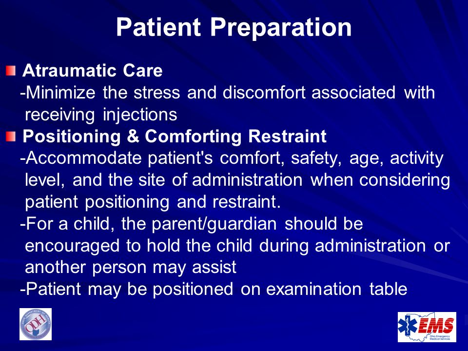 Patient Preparation Atraumatic Care