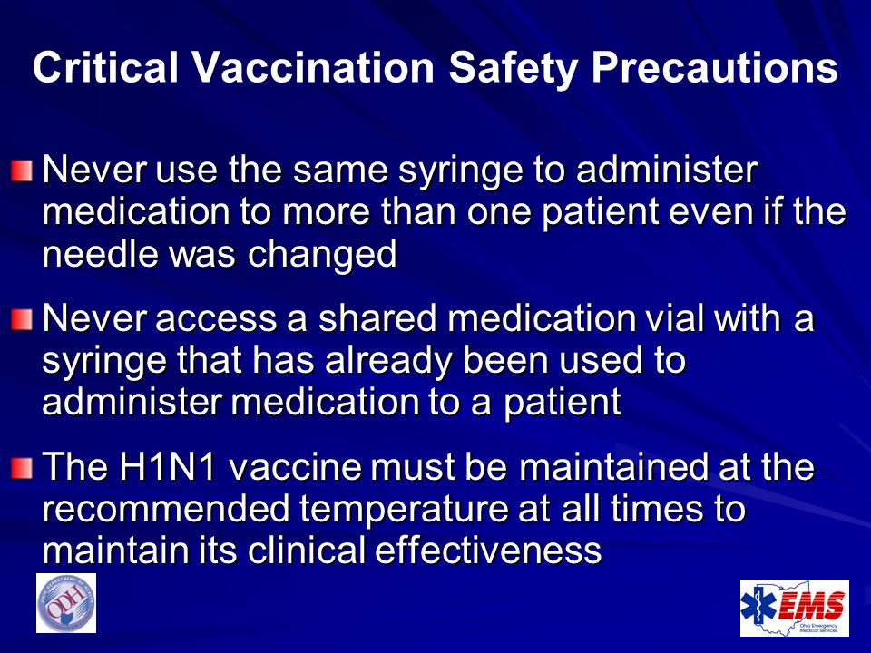 Critical Vaccination Safety Precautions