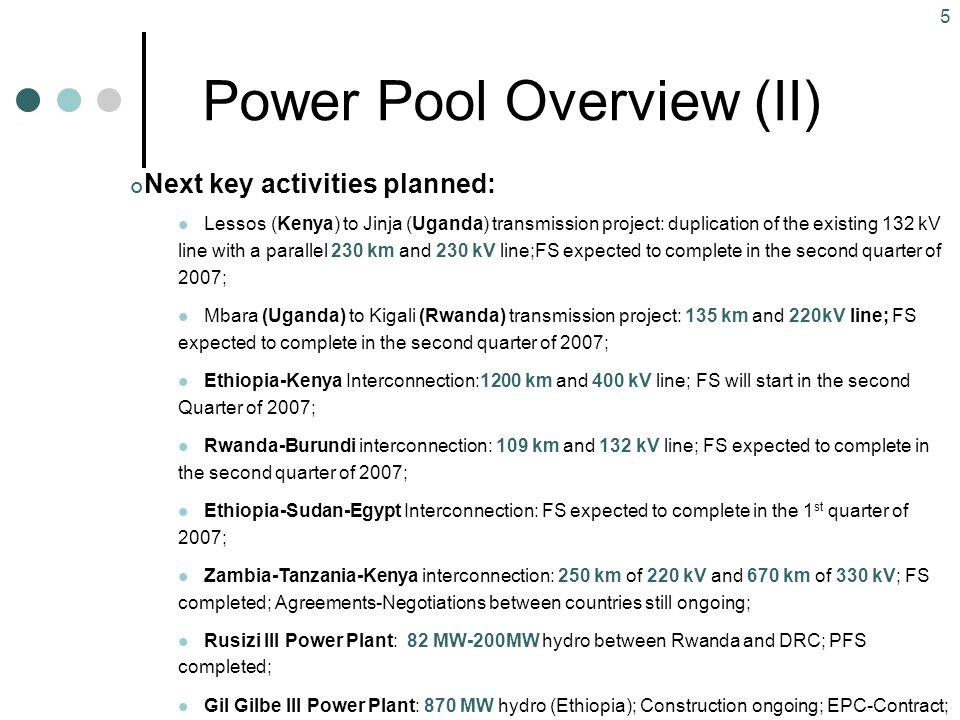 Power Pool Overview (II)