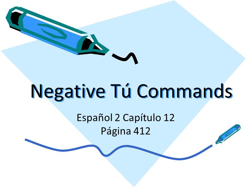 Español 2 Capítulo 12 Página 412