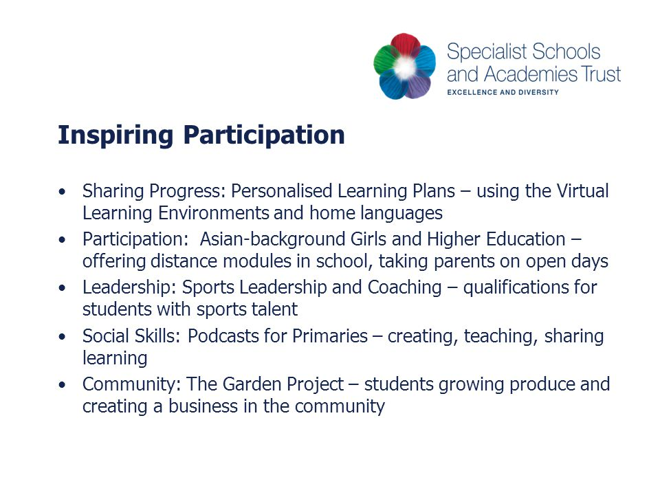 Inspiring Participation