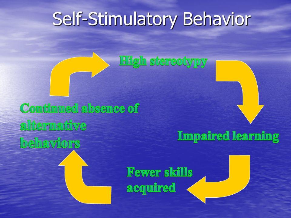 Self-Stimulatory Behavior