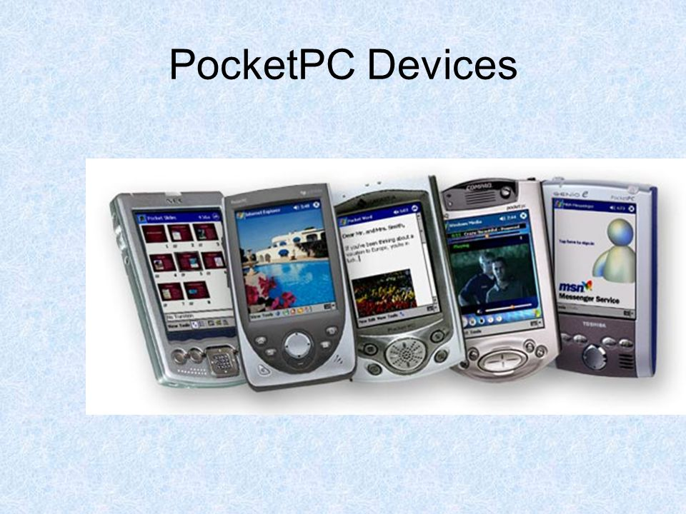 PocketPC Devices