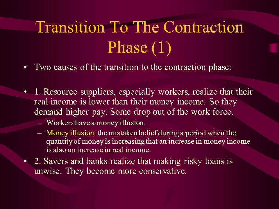Transition To The Contraction Phase (1)