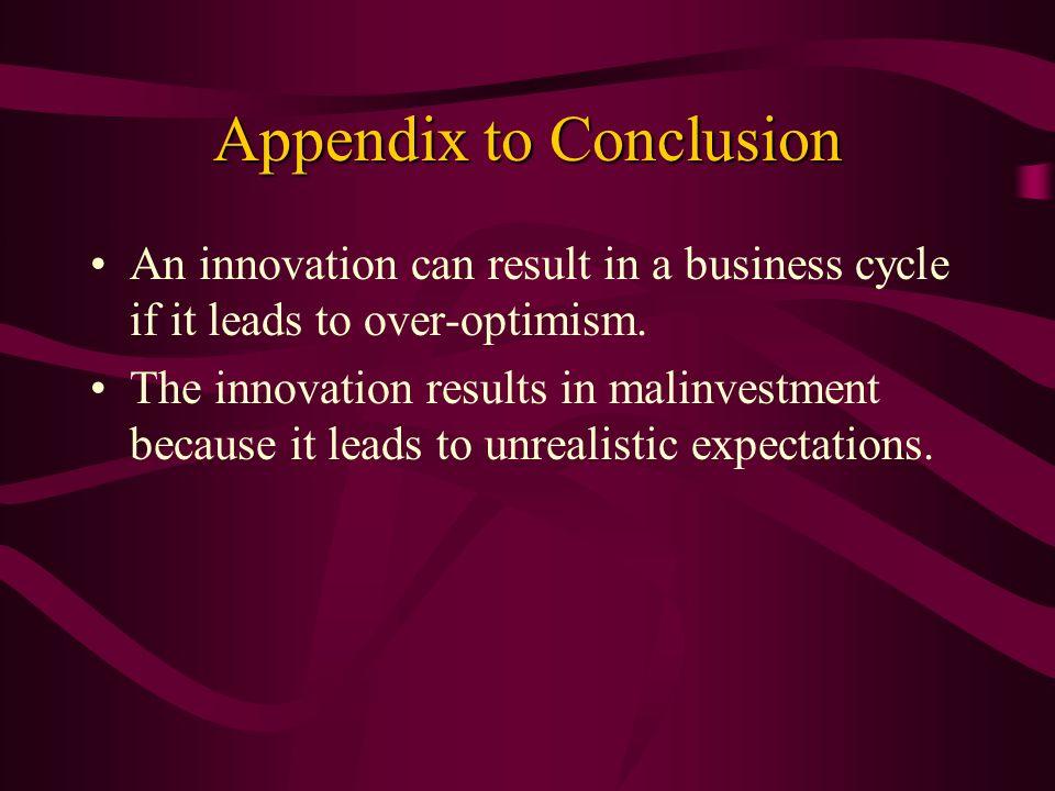 Appendix to Conclusion