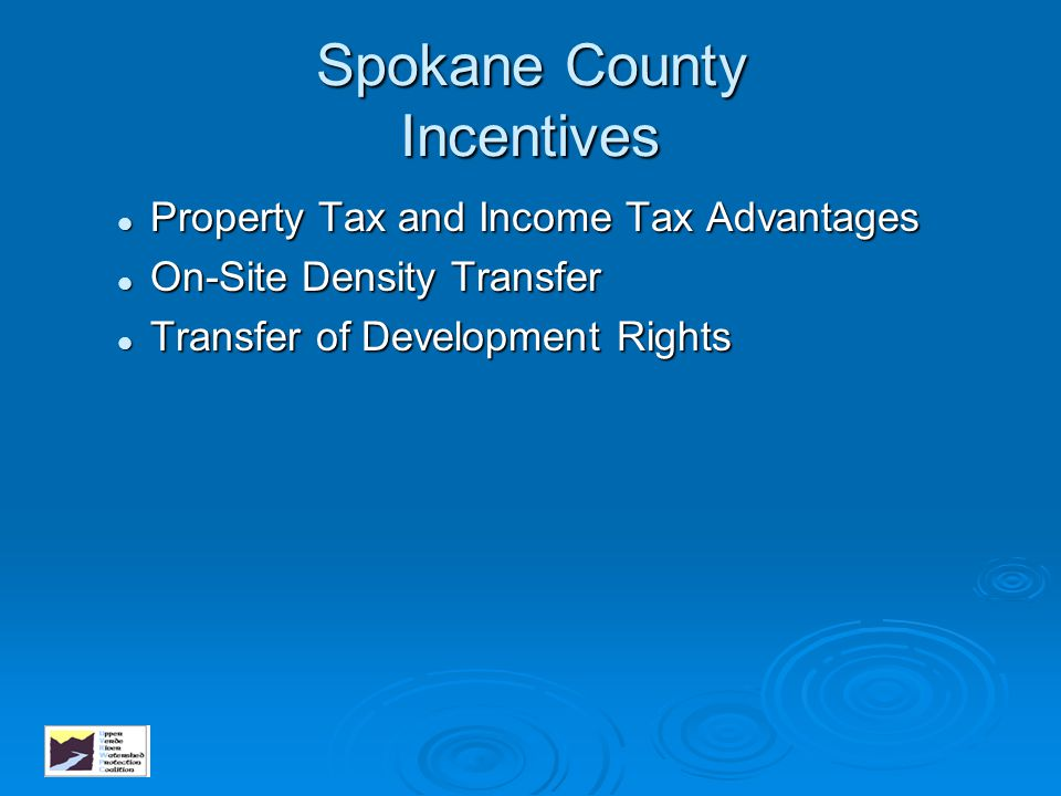 Spokane County Incentives