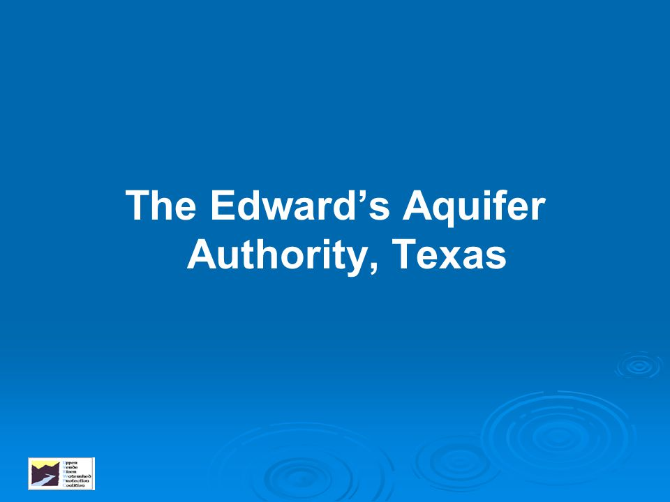 The Edward's Aquifer Authority, Texas