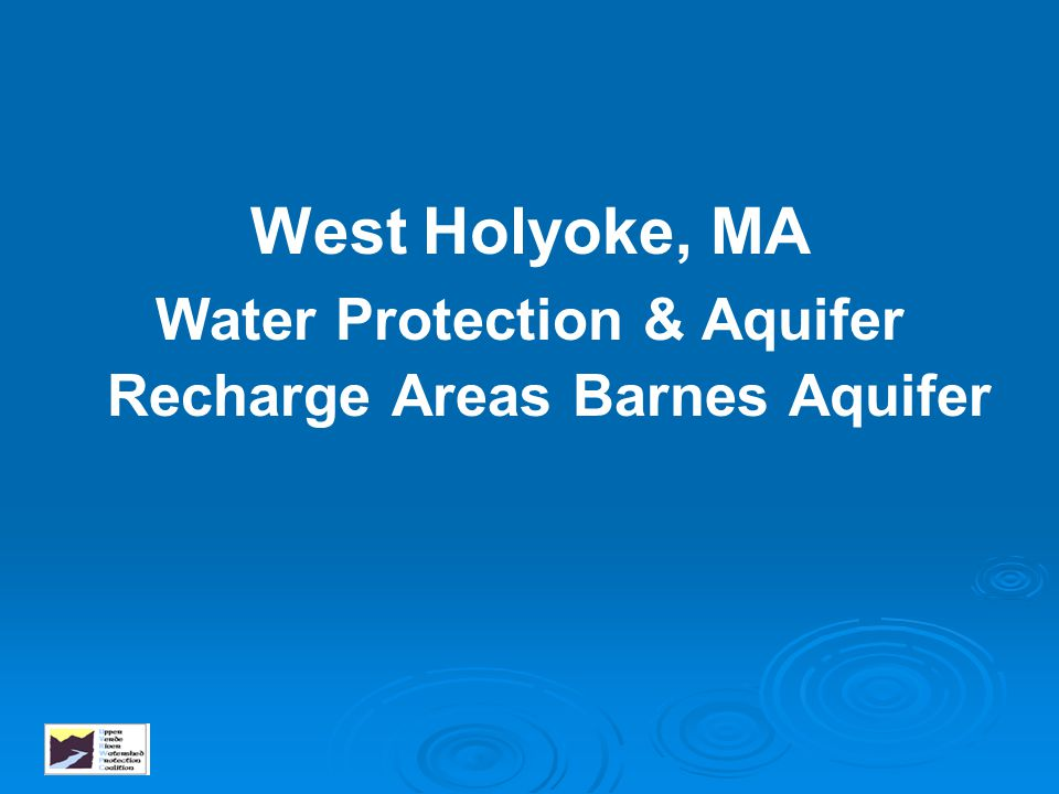 Water Protection & Aquifer Recharge Areas Barnes Aquifer