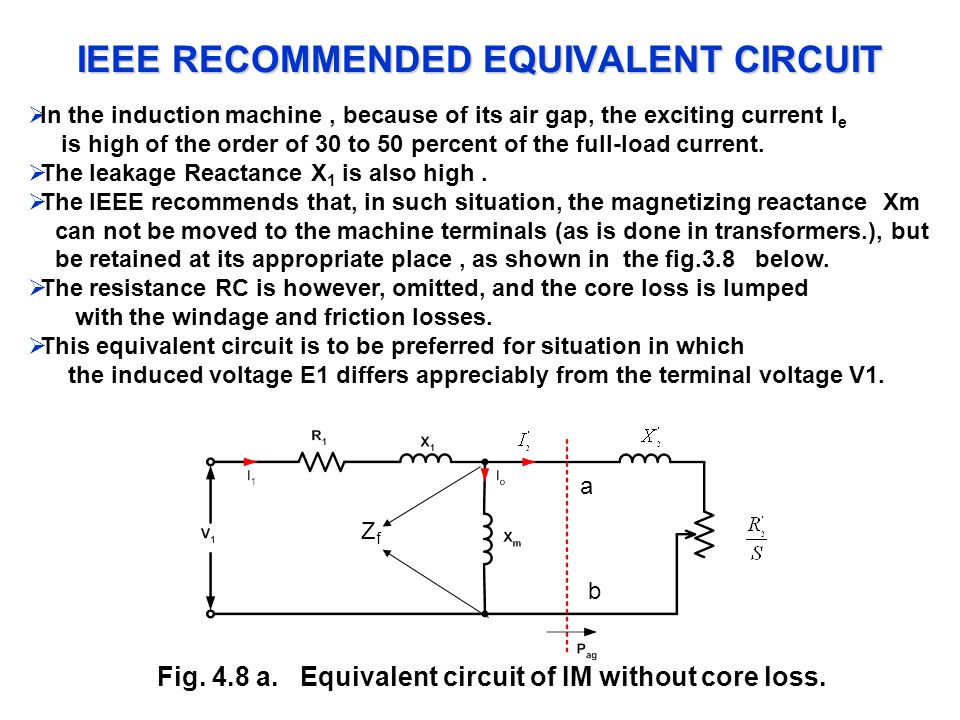 IEEE RECOMMENDED EQUIVALENT CIRCUIT