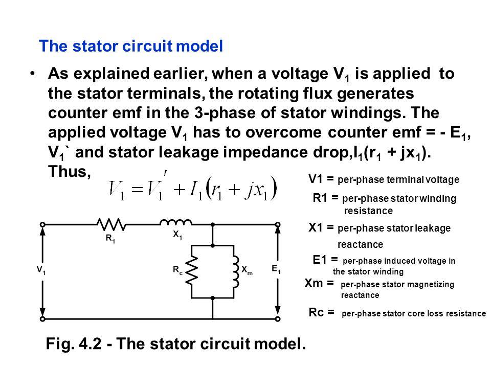 The stator circuit model
