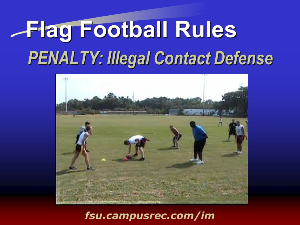 PENALTY: Illegal Contact Defense