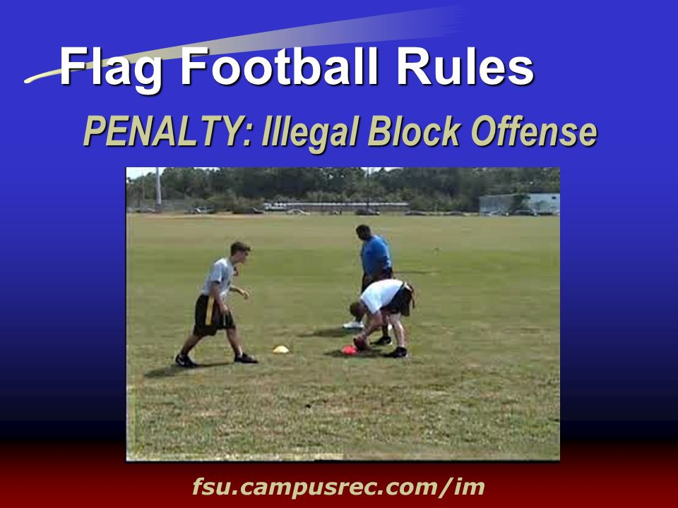 PENALTY: Illegal Block Offense