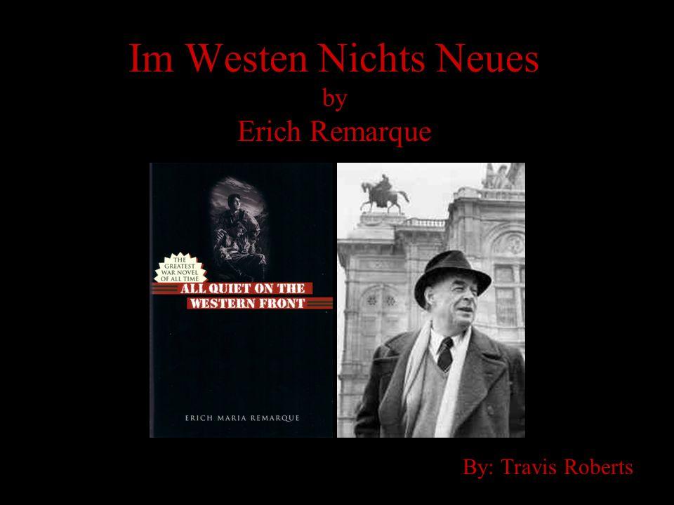 Im Westen Nichts Neues by Erich Remarque