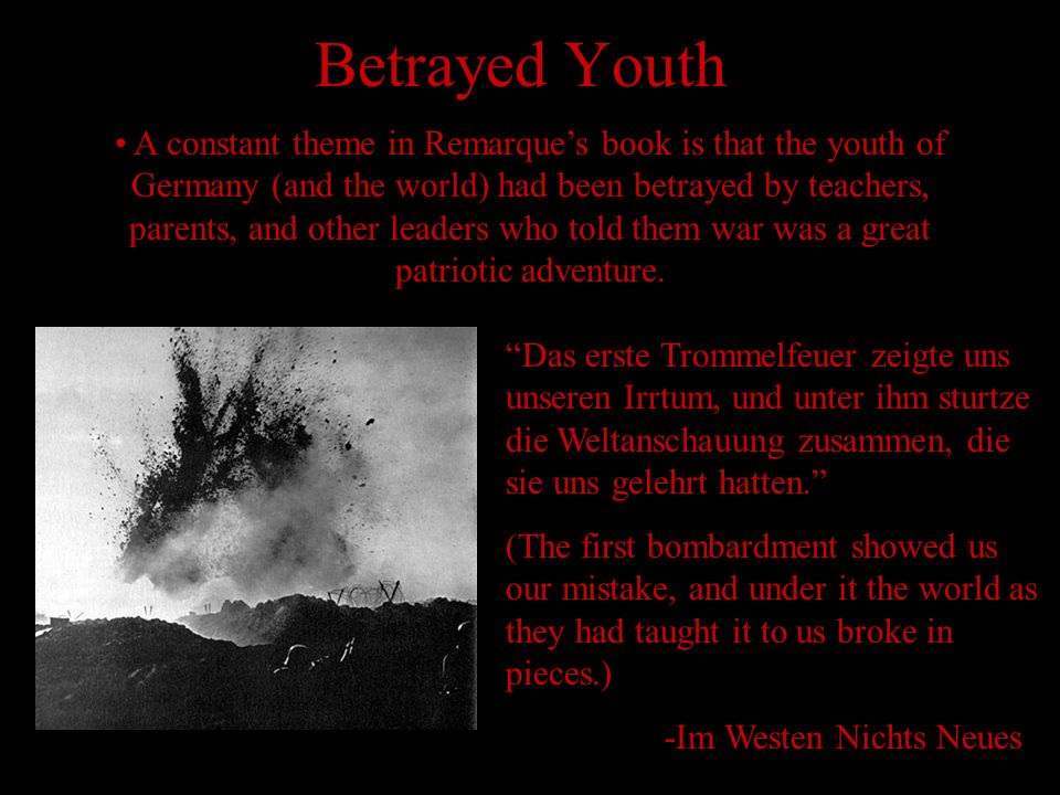 Betrayed Youth
