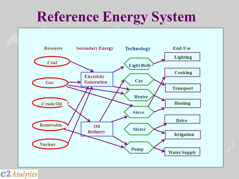 Reference Energy System