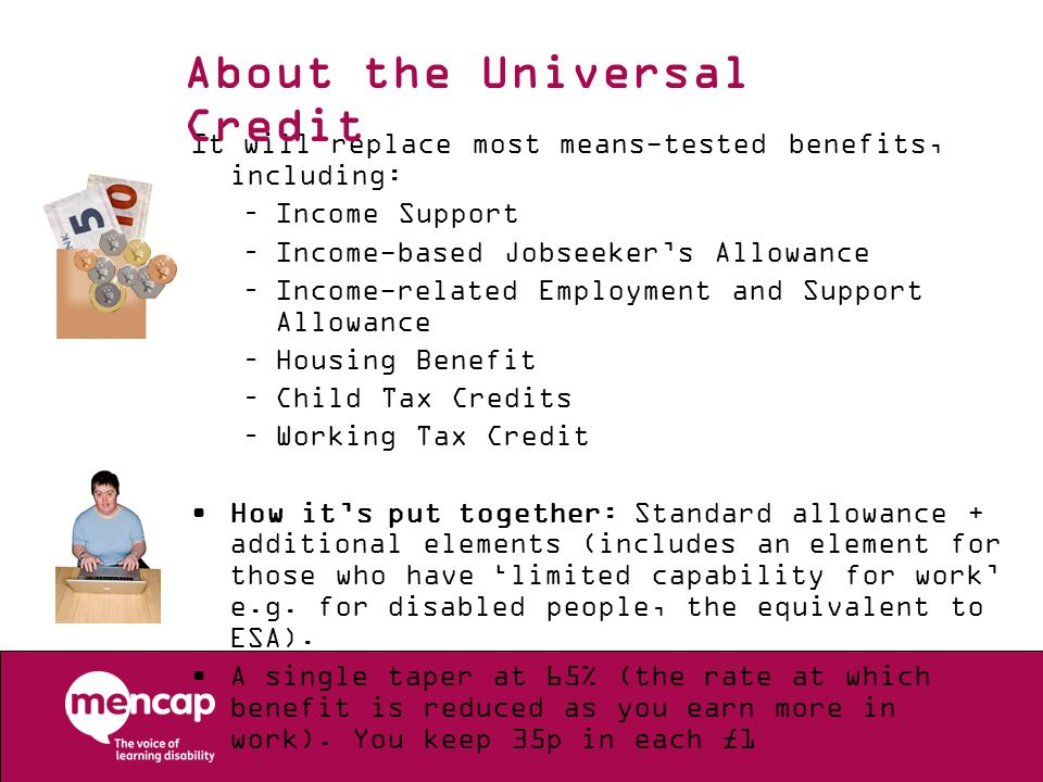 About the Universal Credit