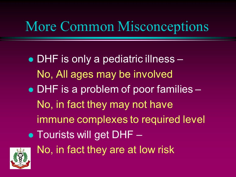 More Common Misconceptions