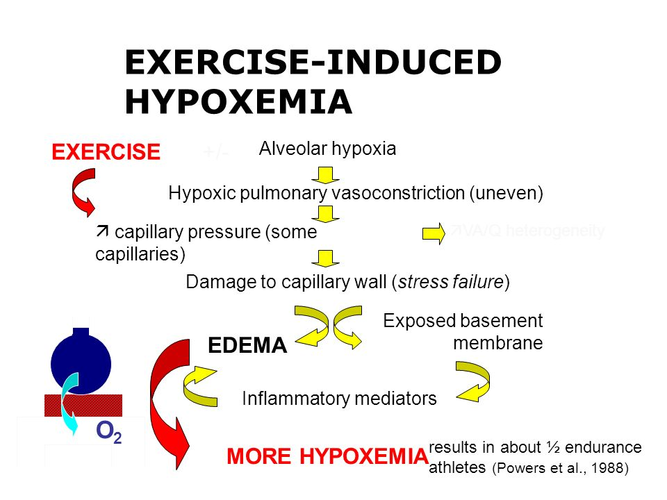 EXERCISE-INDUCED HYPOXEMIA