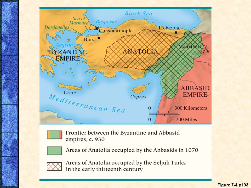MAP 7. 4 The Turkish Occupation of Anatolia