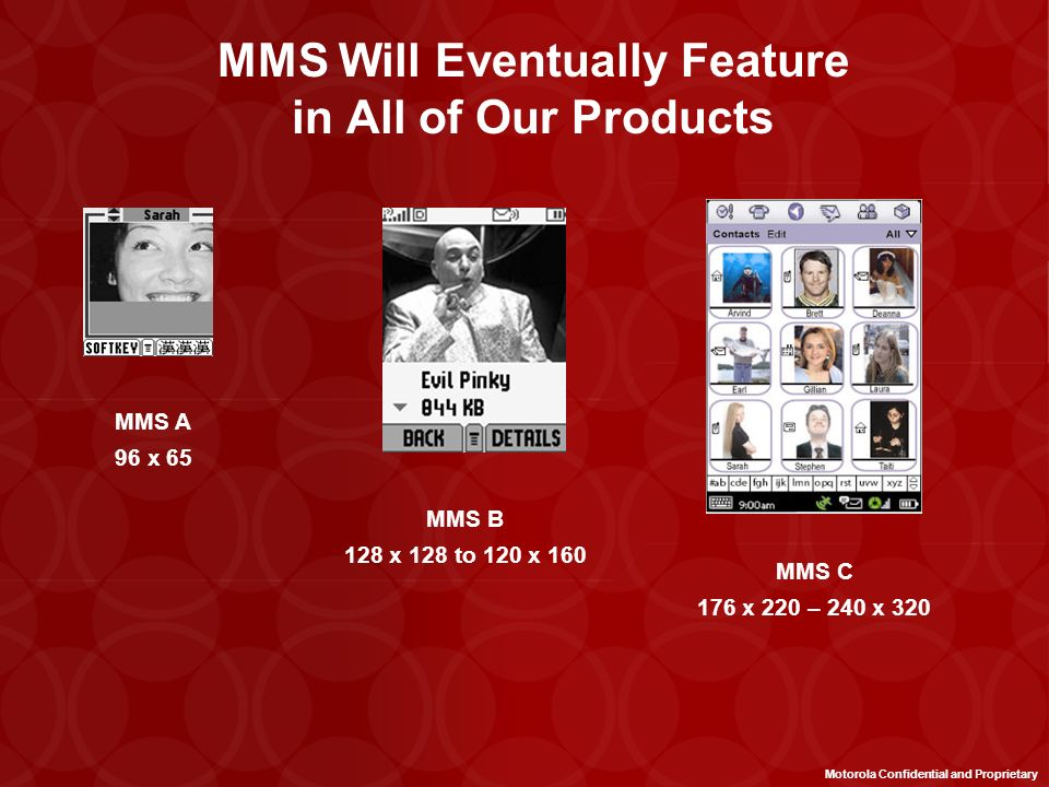 MMS Will Eventually Feature in All of Our Products