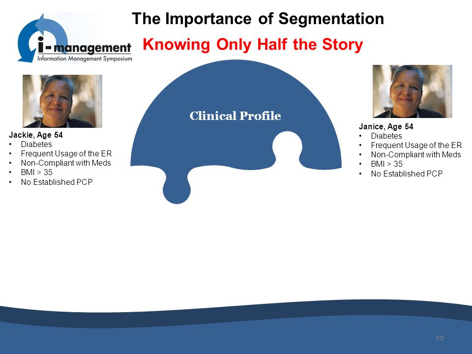 The Importance of Segmentation Knowing Only Half the Story