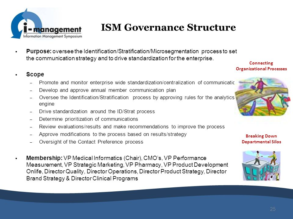ISM Governance Structure