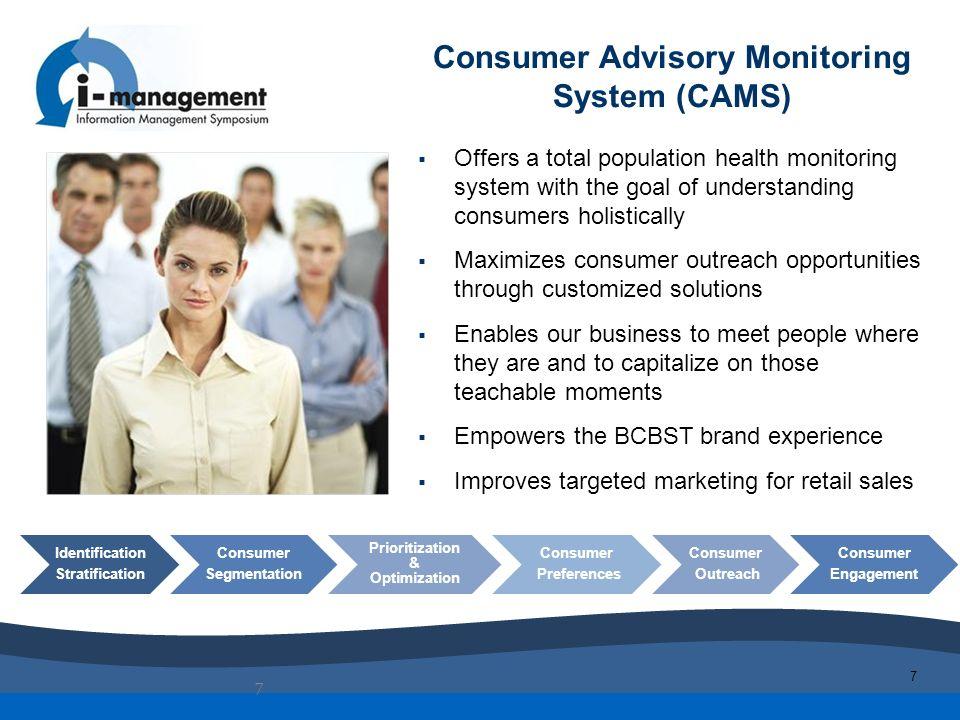Consumer Advisory Monitoring System (CAMS)