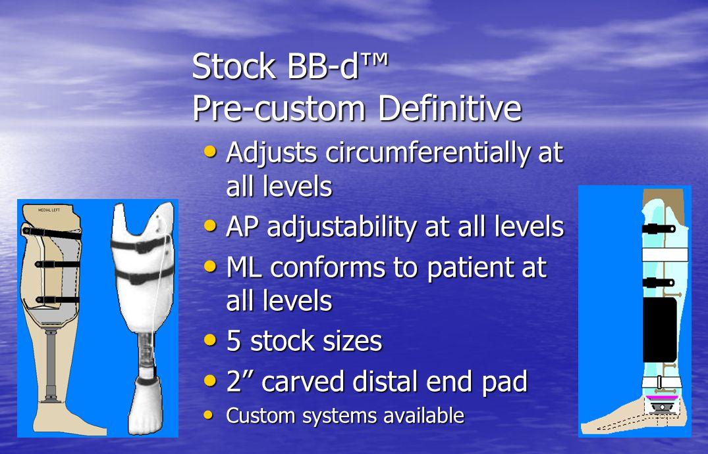 Stock BB-d™ Pre-custom Definitive