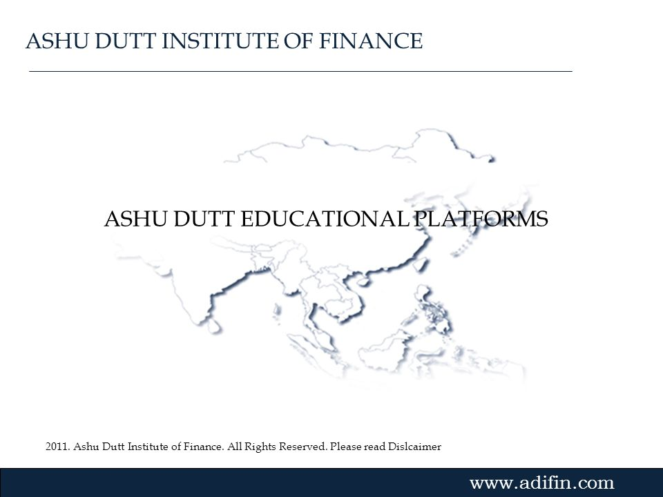 ASHU DUTT EDUCATIONAL PLATFORMS
