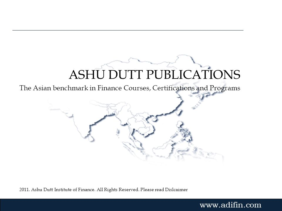 ASHU DUTT PUBLICATIONS