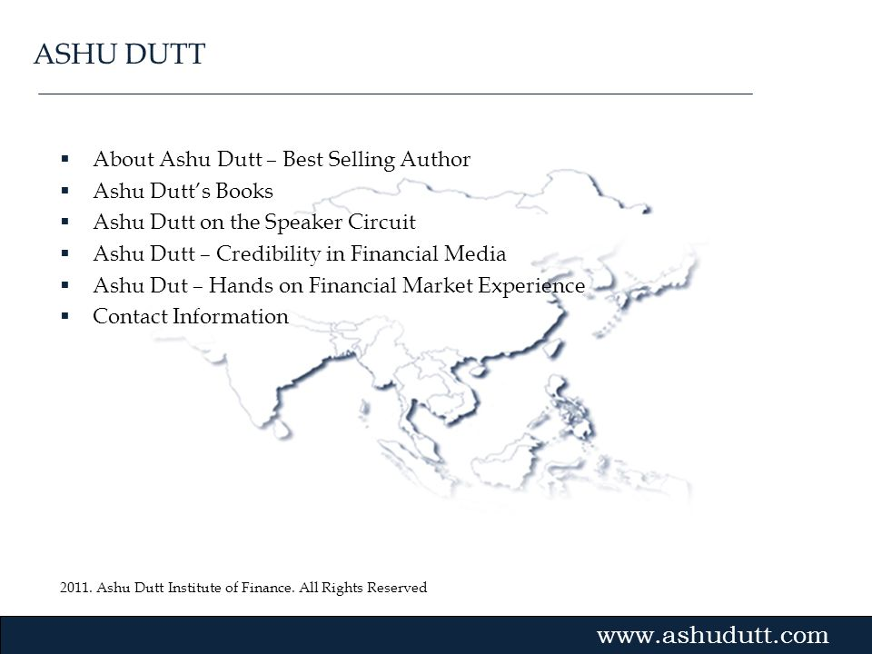 ASHU DUTT About Ashu Dutt – Best Selling Author Ashu Dutt's Books