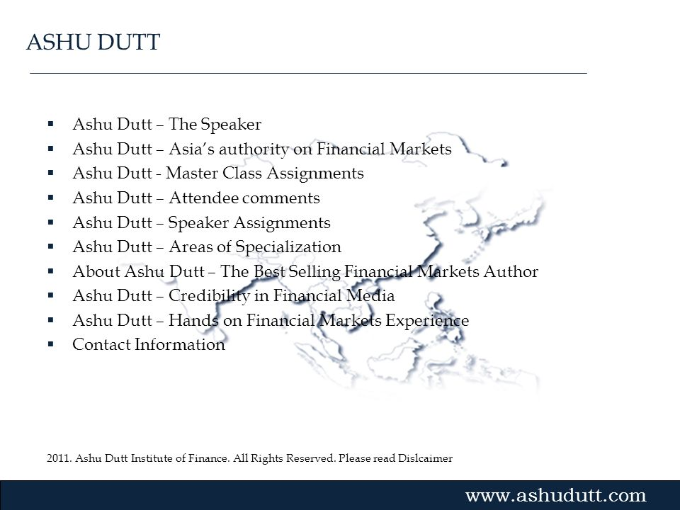 ASHU DUTT Ashu Dutt – The Speaker