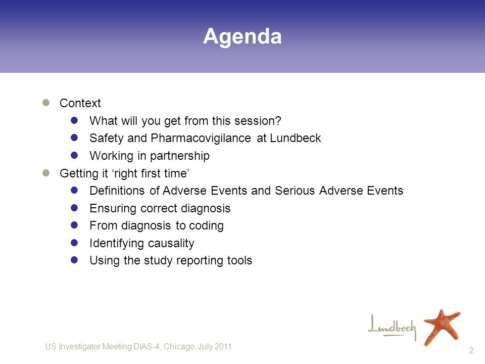 Agenda Context What will you get from this session