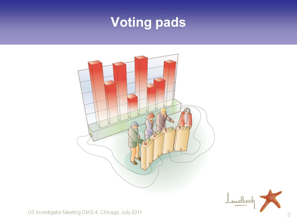 Voting pads 3
