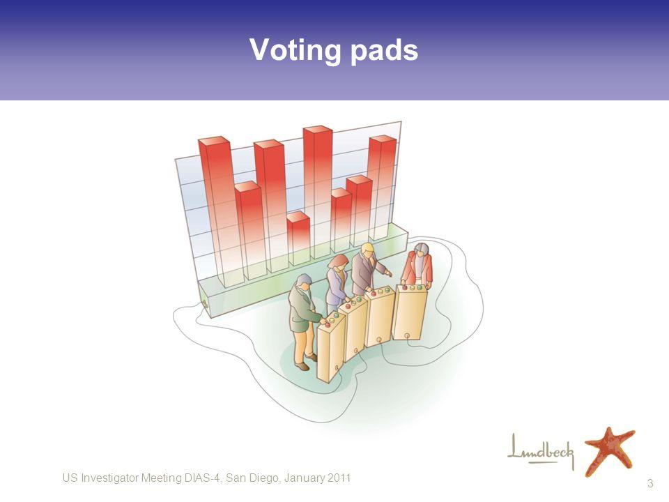 Voting pads 3