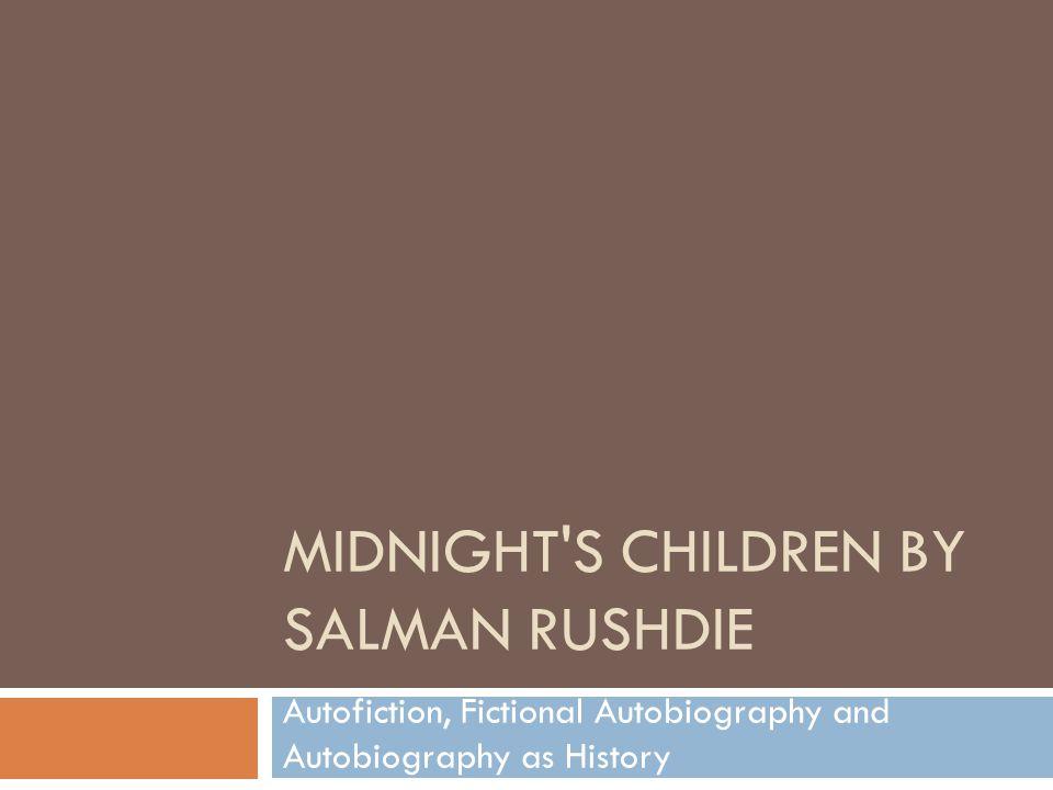Midnight s Children by Salman Rushdie