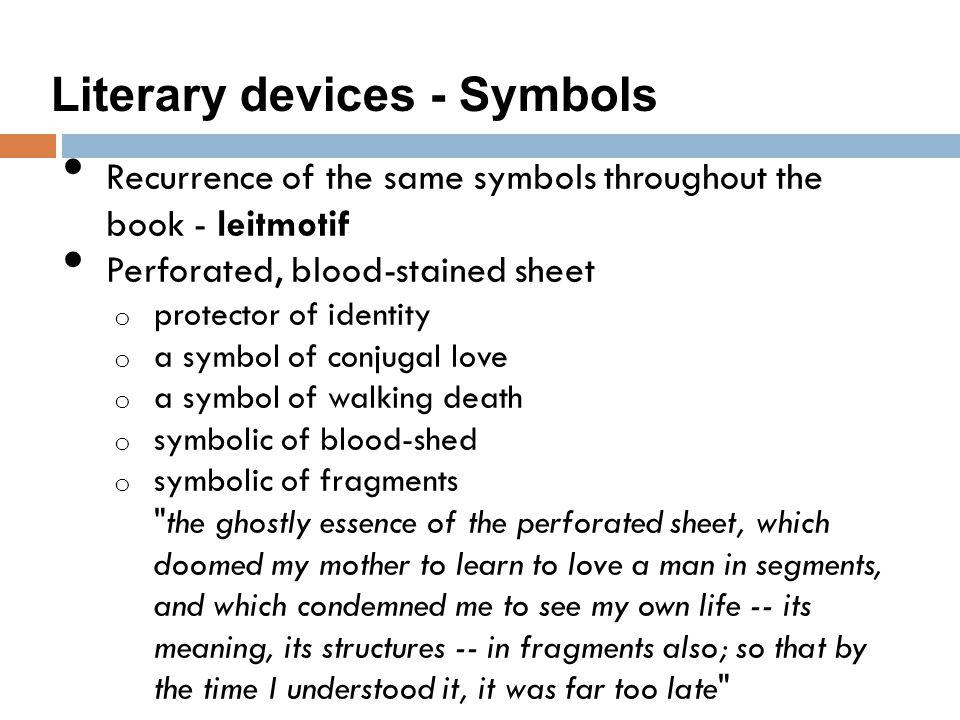 Literary devices - Symbols