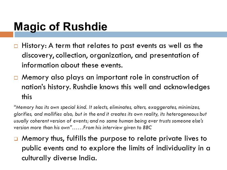 Magic of Rushdie