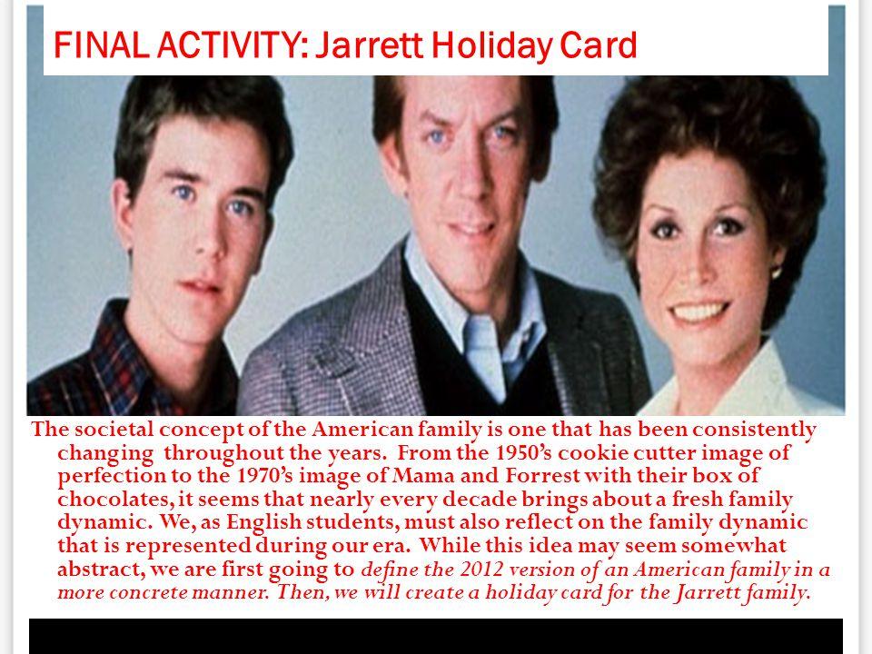 FINAL ACTIVITY: Jarrett Holiday Card