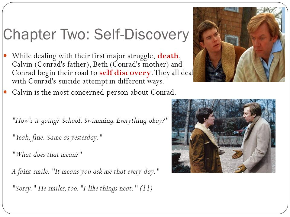 Chapter Two: Self-Discovery