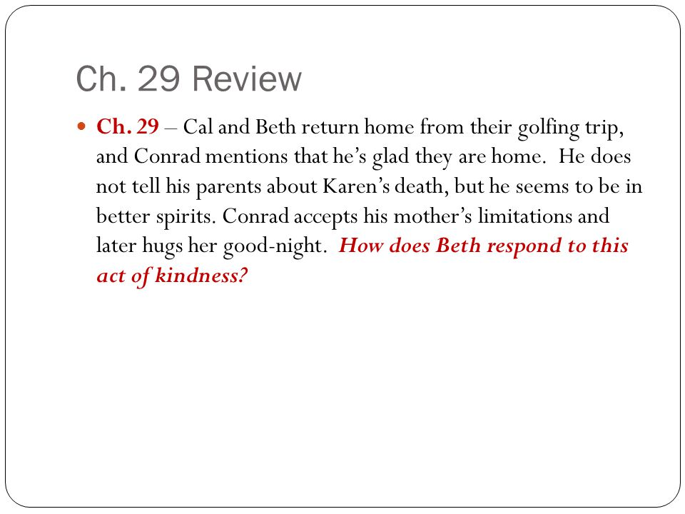 Ch. 29 Review