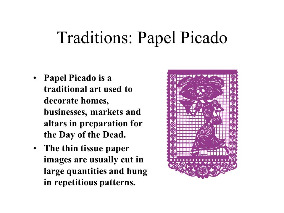 Traditions: Papel Picado
