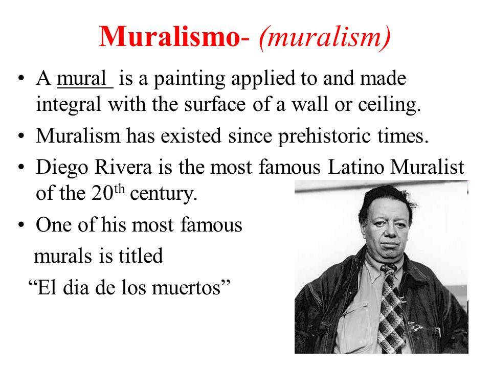 Muralismo- (muralism)