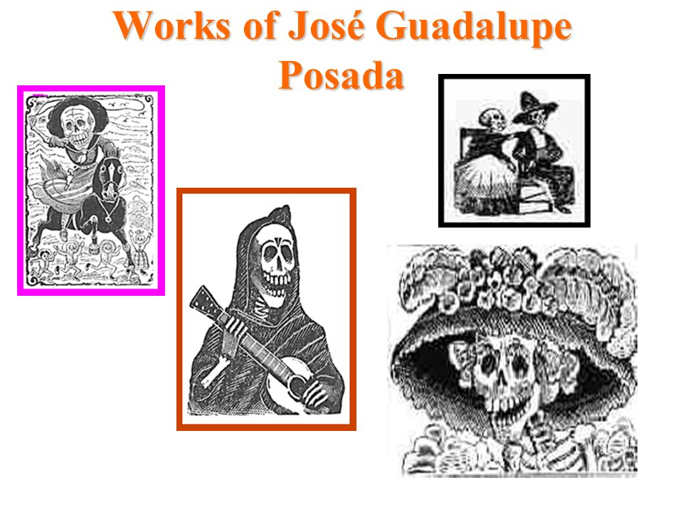 Works of José Guadalupe Posada