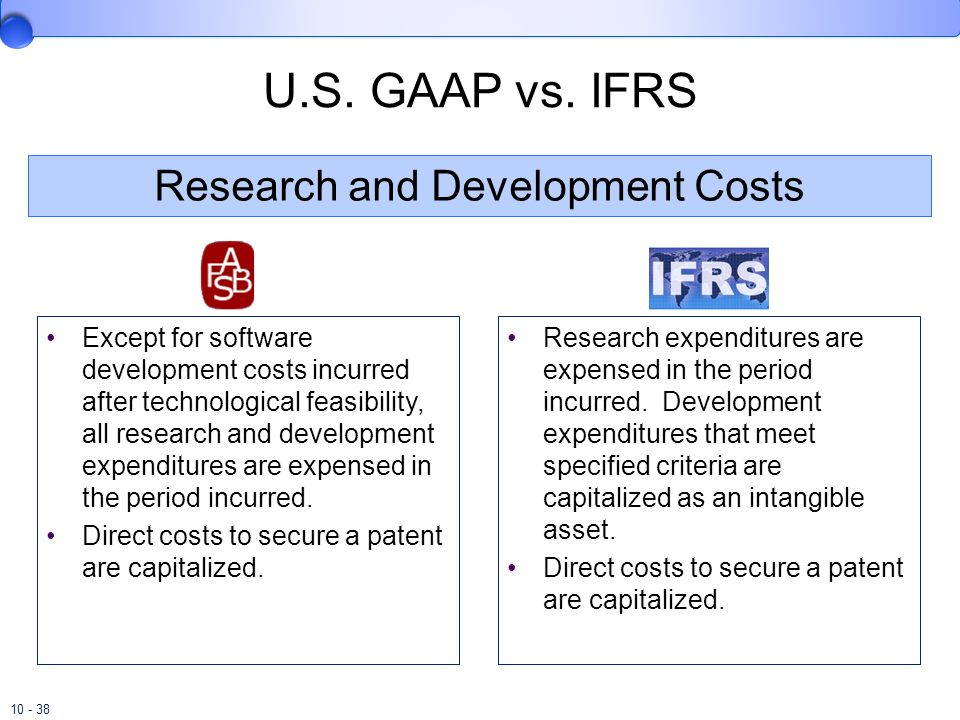 ifrs research The convergence of us gaap and ifrs: revenue recognition colleen a steele university of new hampshire this association also supports accounting and audit research,.