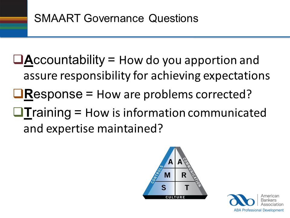 SMAART Governance Questions