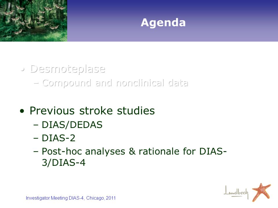 Previous stroke studies